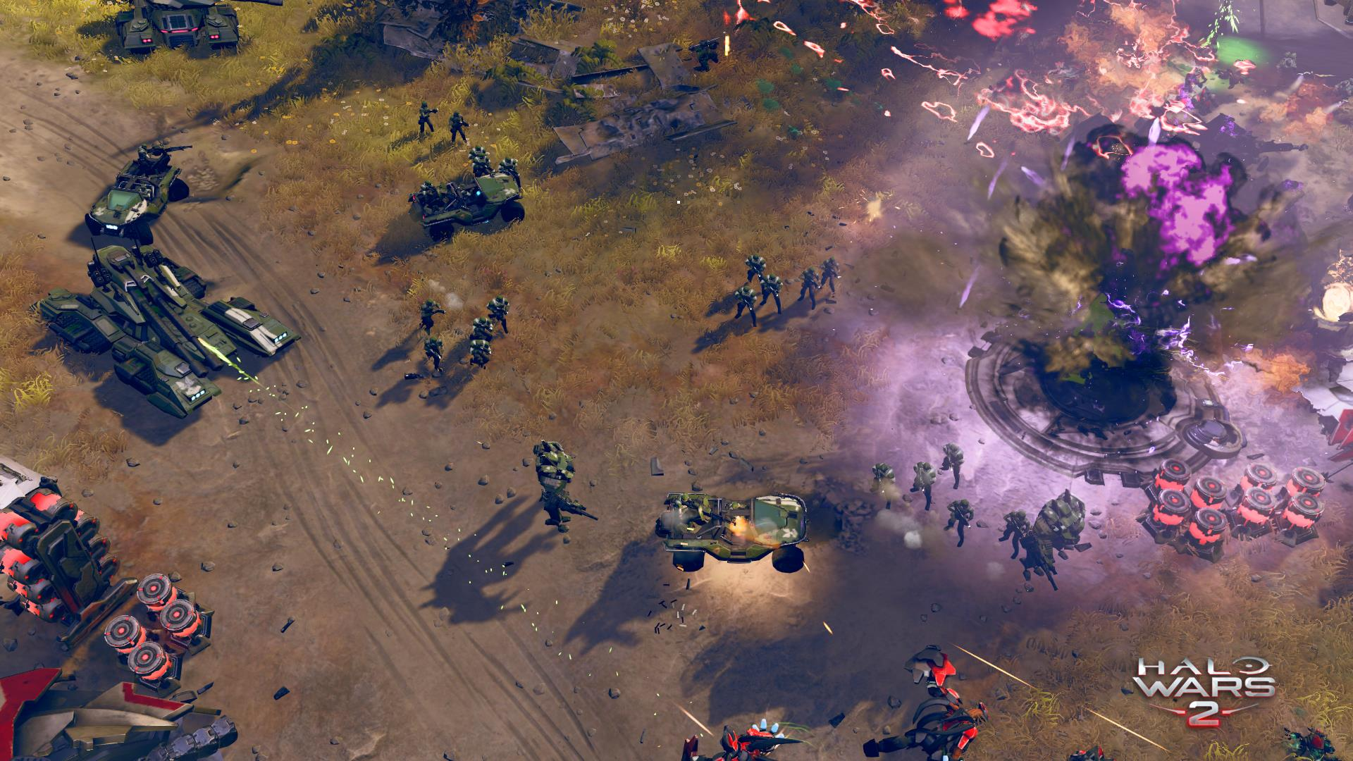 Take a look at some Halo Wars 2 gameplay running on PC   VG247