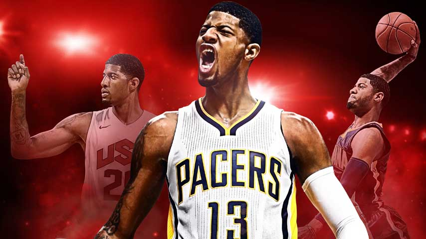 Paul George named as NBA 2K17 cover athlete | VG247