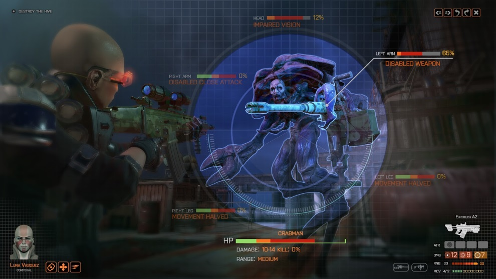 Here's the first screen from Phoenix Point, the new open ...