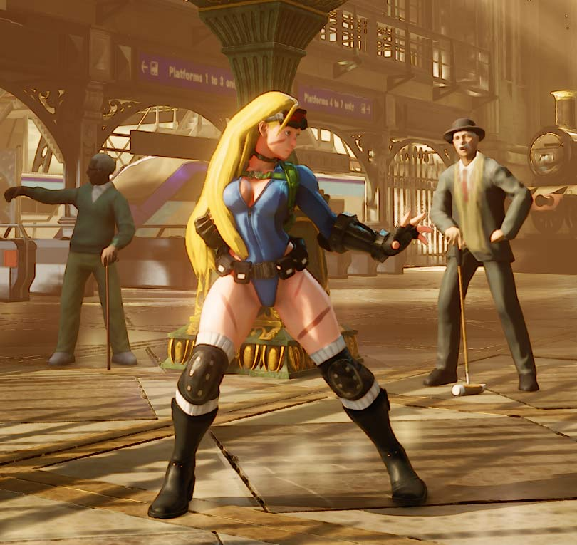 Cammy street fighter 5 costume