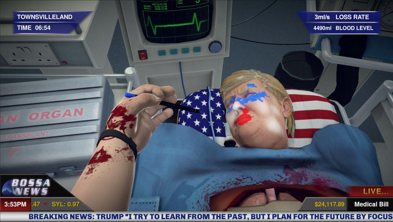 Surgeon Simulator update takes you Inside Donald Trump : VG247