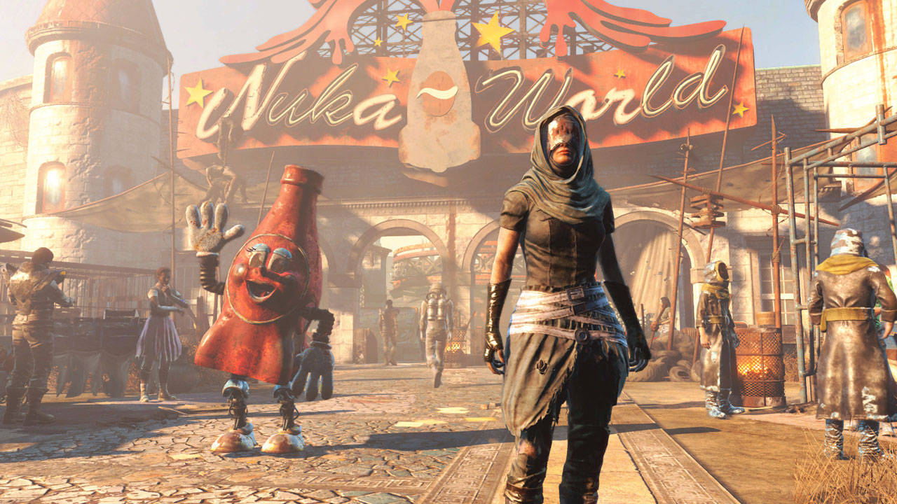 Check out Fallout 4s final DLC in commentated Nuka World