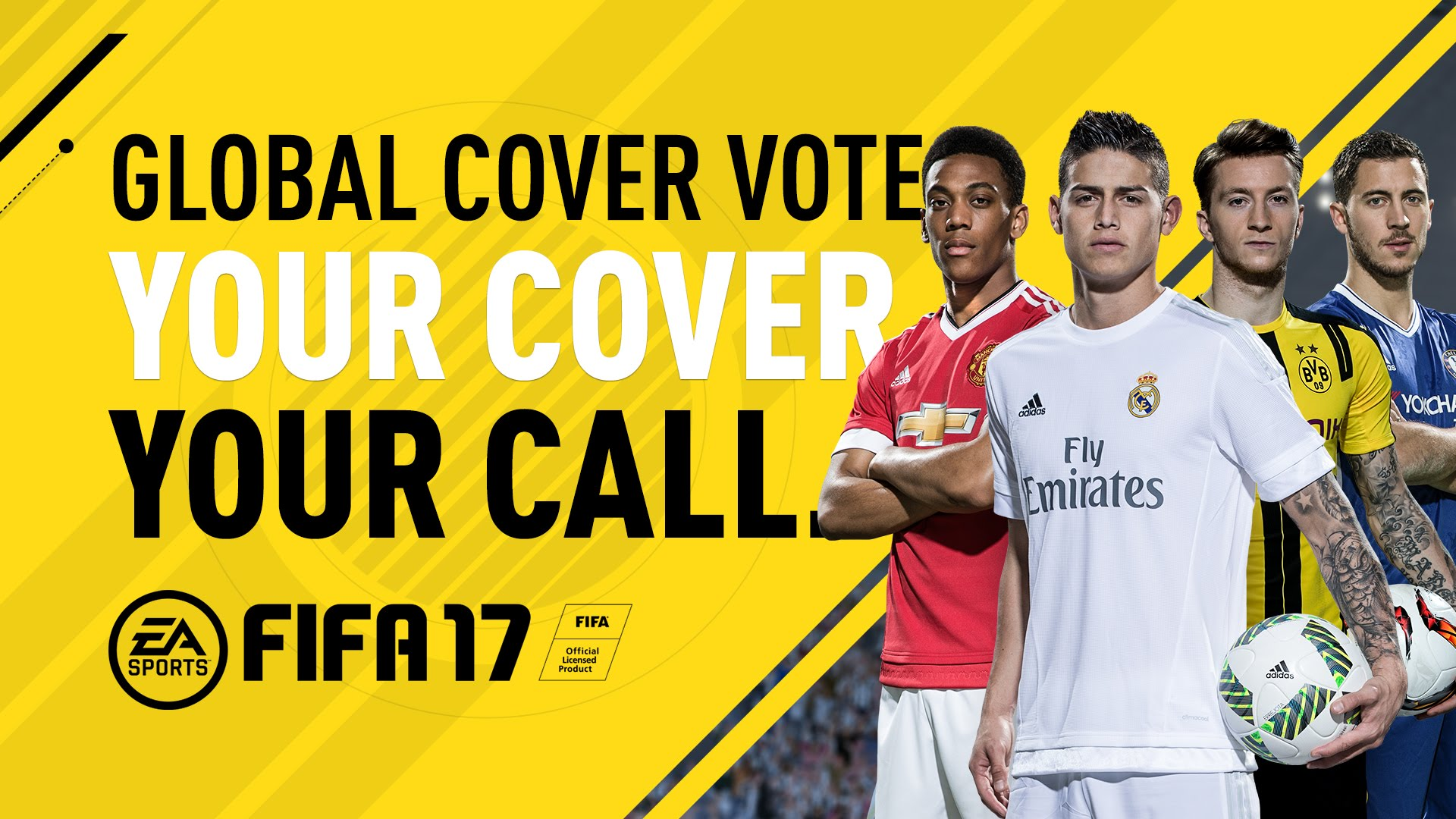 FIFA 17 cover player to be decided by the fans   VG247