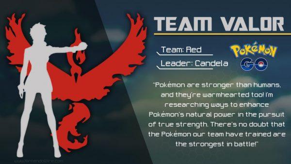 Pokemon Team Go Valor