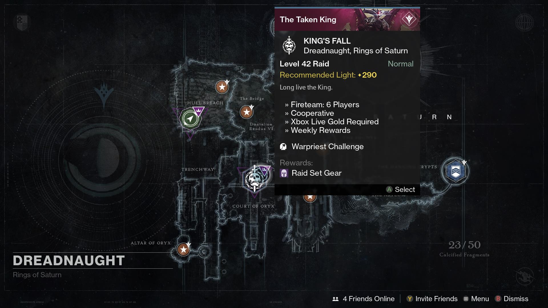 Nightfall matchmaking taken king