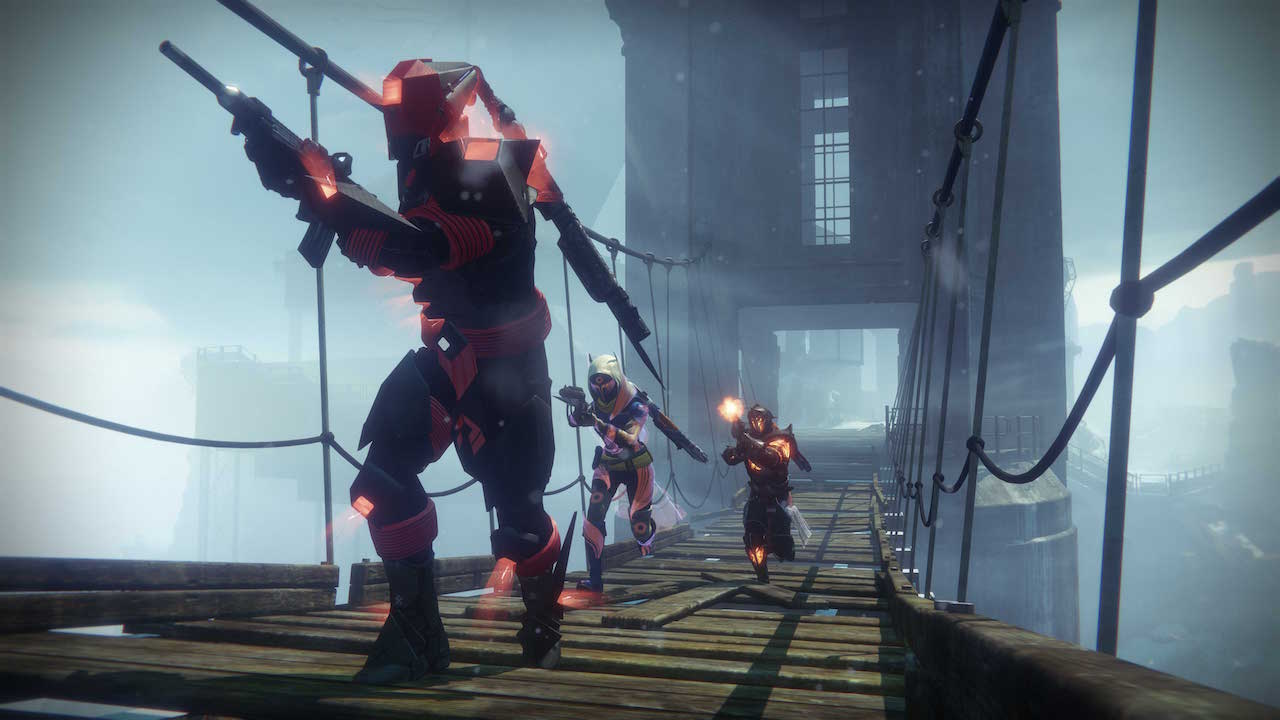 Destiny rise of iron screens show off the wretched eye strike social