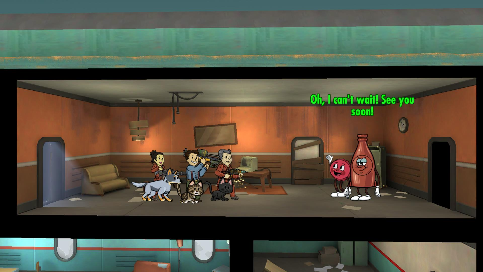 Fallout Shelter Update 1 7 Brings Nuka World S Bottle And