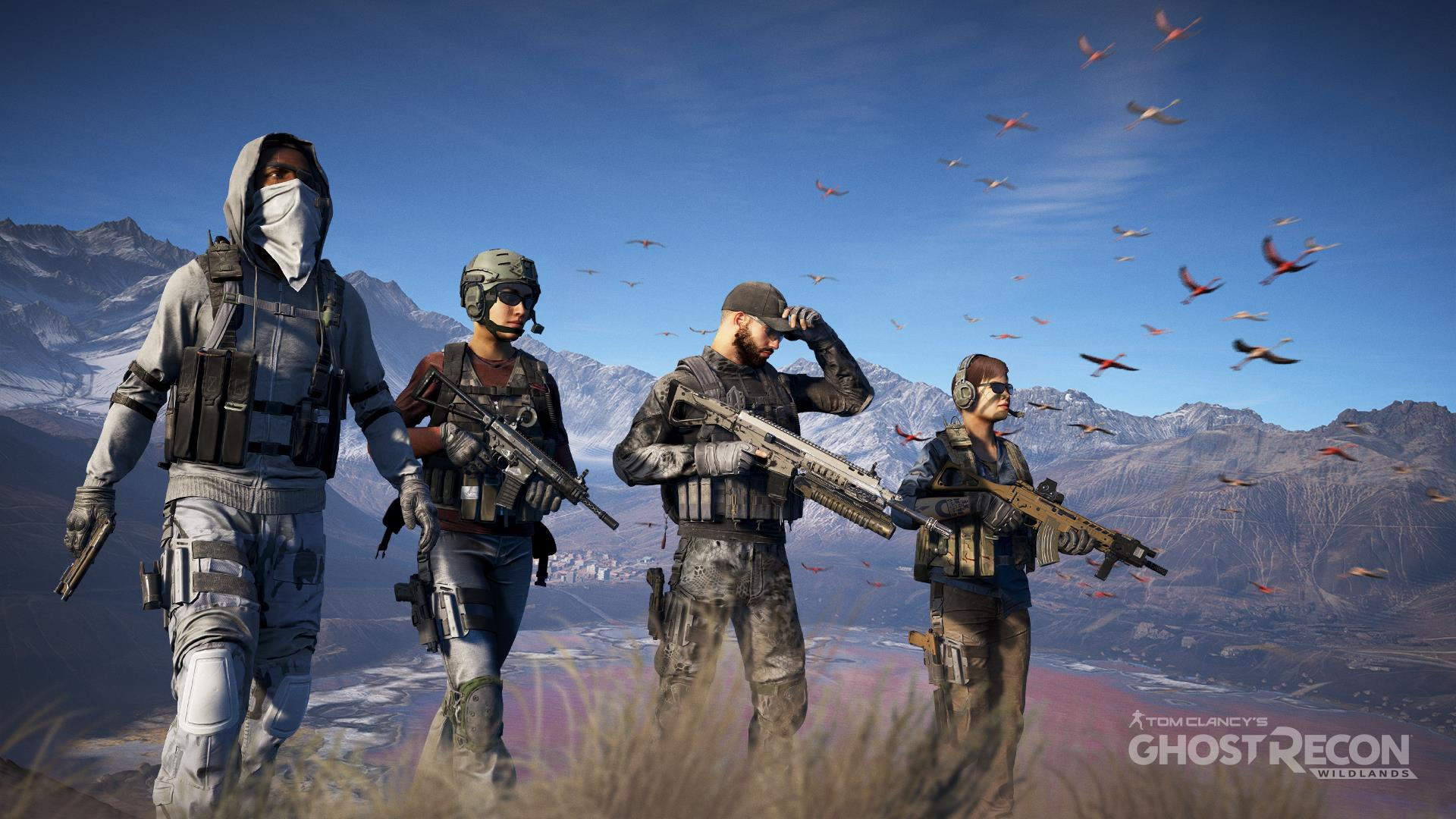 Ghost Recon: Wildlands live-action trailer has the Ghosts