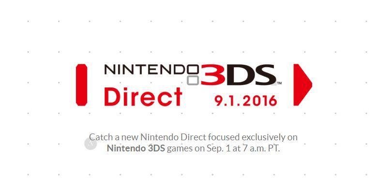 Nintendo Direct focused on upcoming 3DS games scheduled for Thursday ...