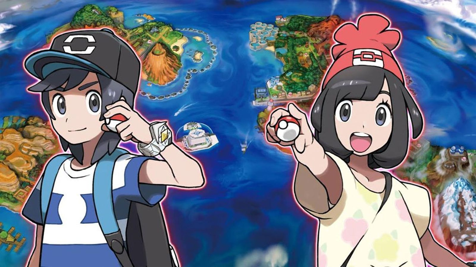 Two new Pokemon revealed for Pokemon Sun and Moon along