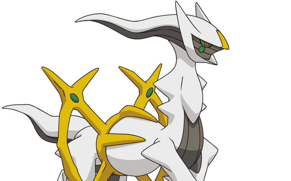 Mythical Pokemon Arceus Is This Month S Pokemon Omega Ruby