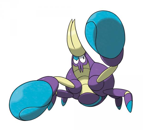 Crabrawler and that sand castle pokemon are new alola region creatures