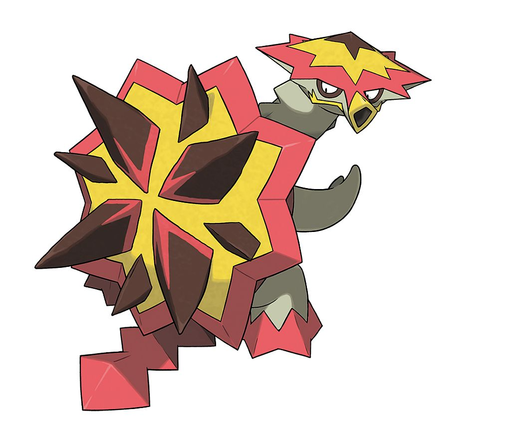 A Blast Turtle Pokemon From The