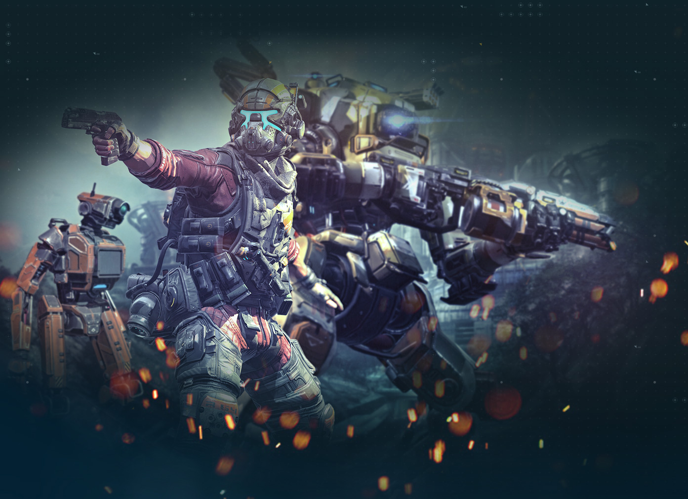 You ll be able to communicate with your titan bt 7274 in titanfall 2