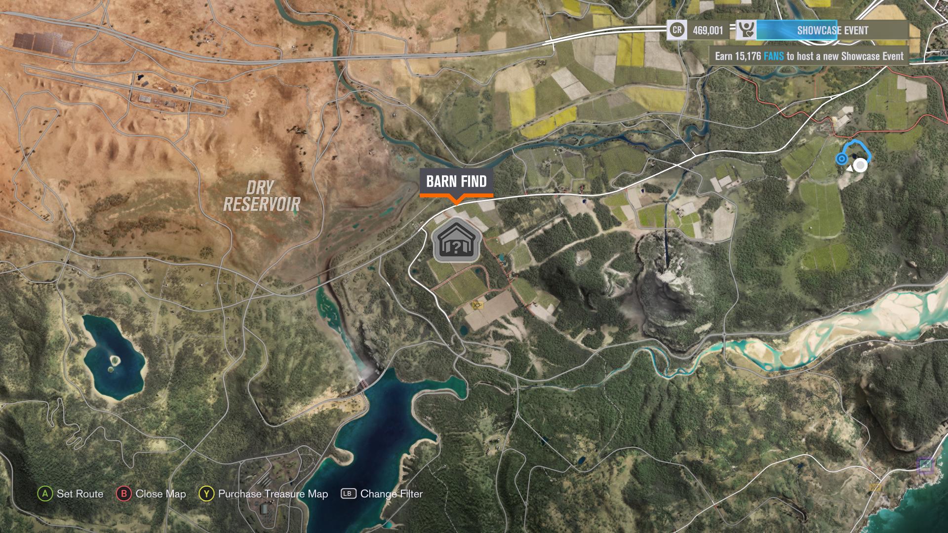 Forza Horizon 3 Car Barn Finds Visual Guide Vg247