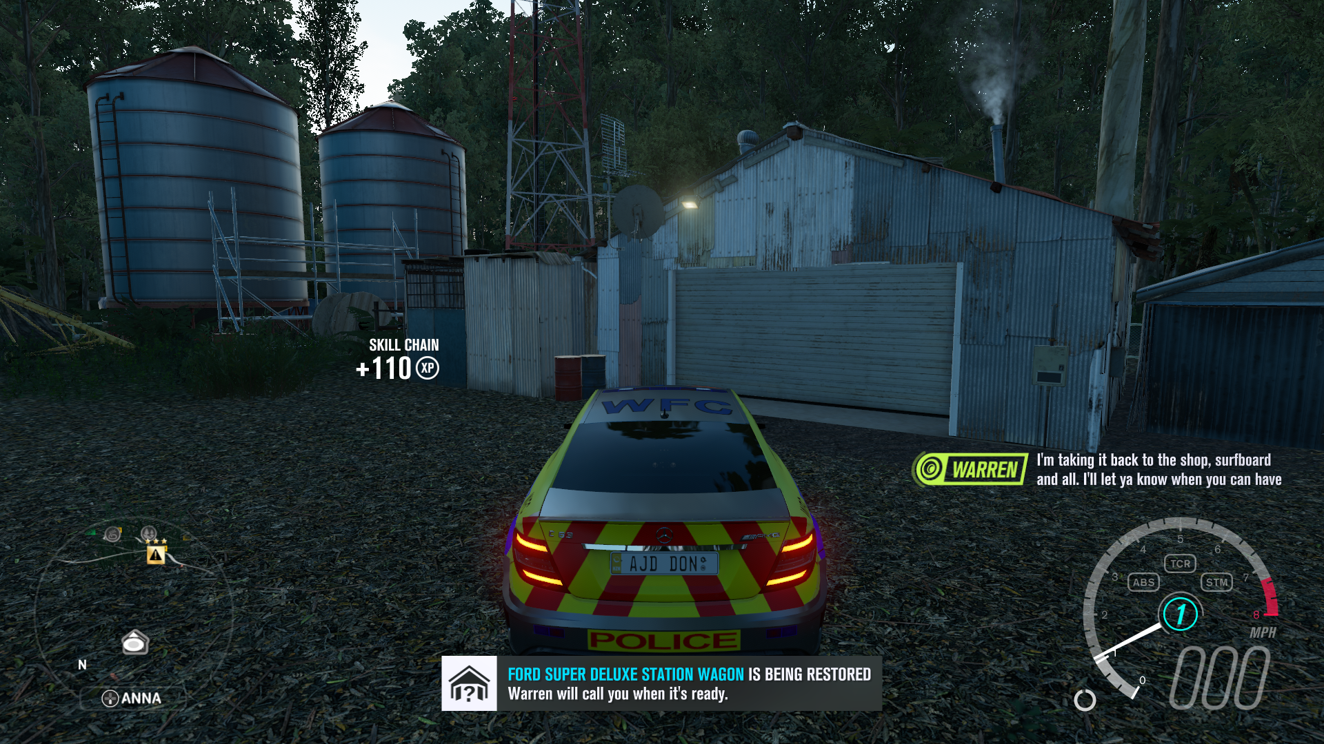 Forza Horizon 3: Car Barn Finds Visual Guide