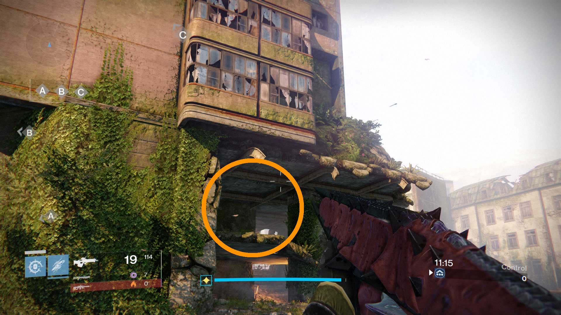 Destiny rise of iron new crucible map dead ghosts locations visual