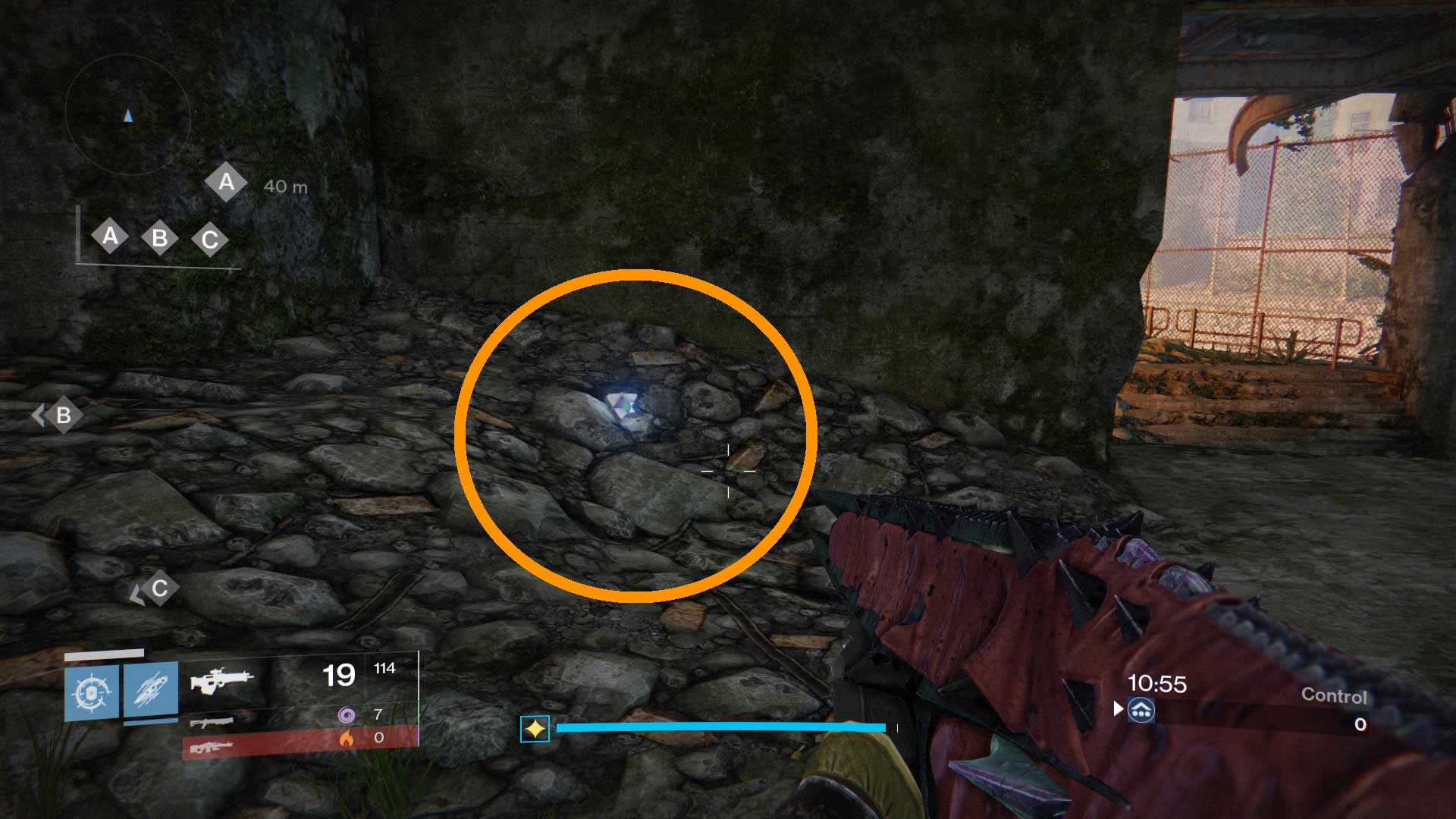 Helped you track down all the new crucible map dead ghosts in destiny