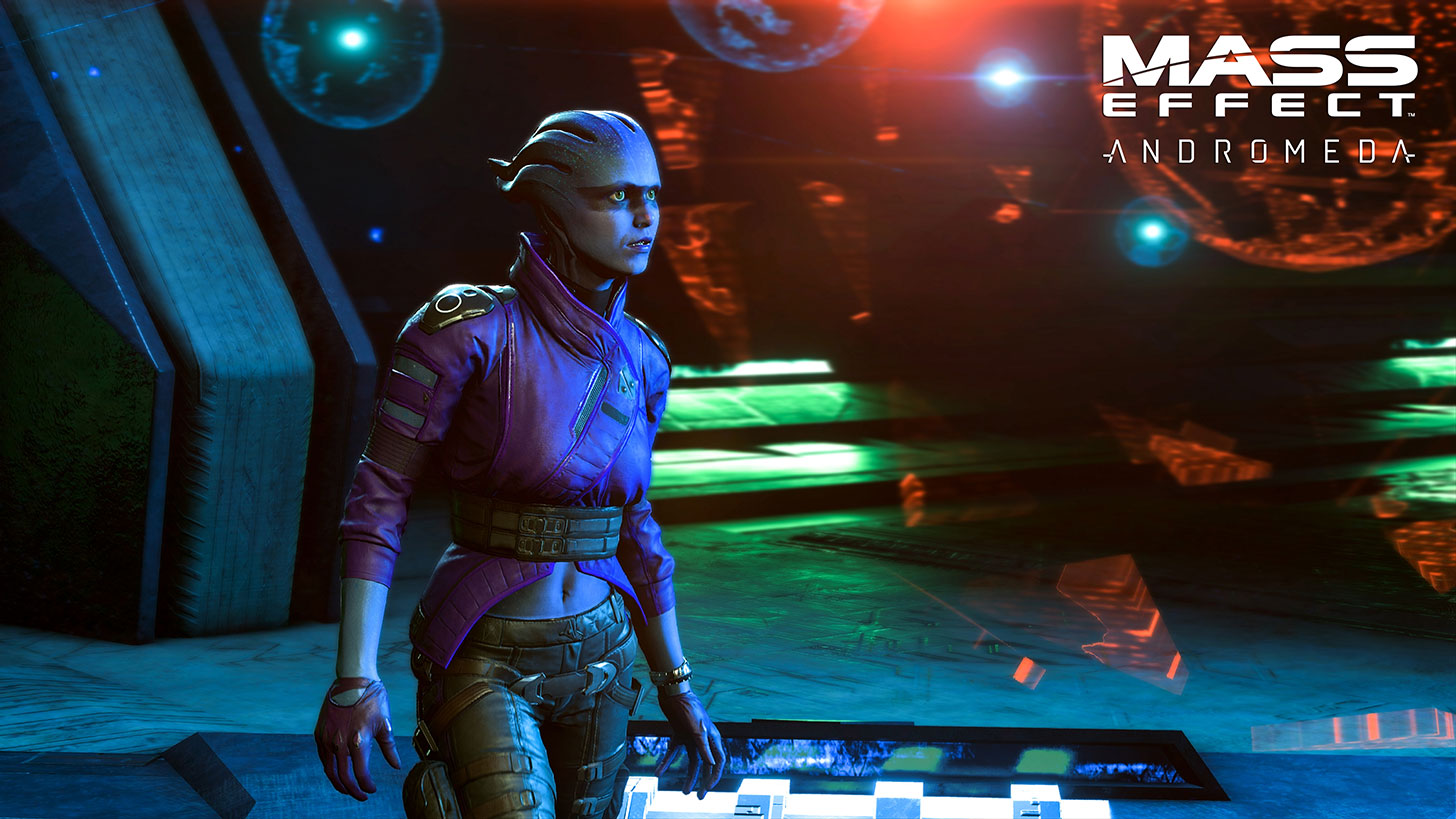 Your Companions In Mass Effect Andromeda Liam And Peebee Sound Like Fun People To Hang Out