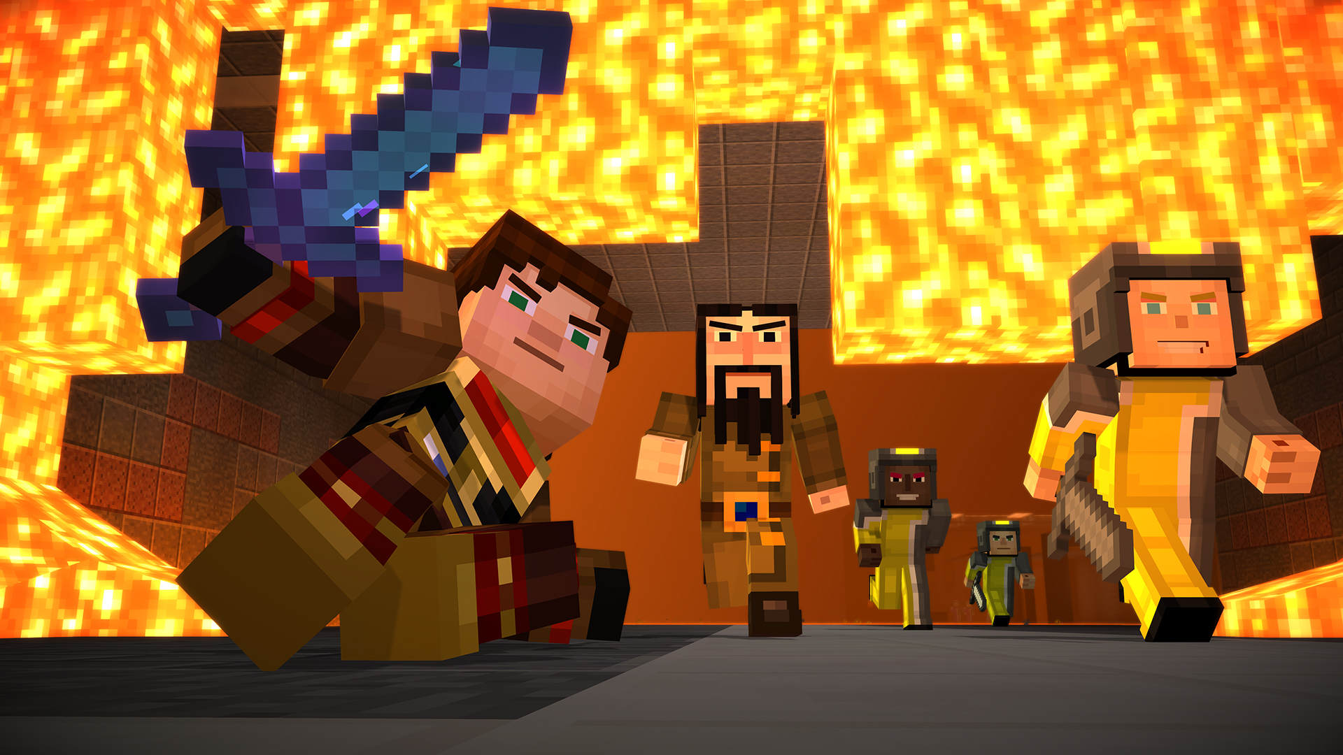 Watch The Launch Trailer For Minecraft Story Mode Episode