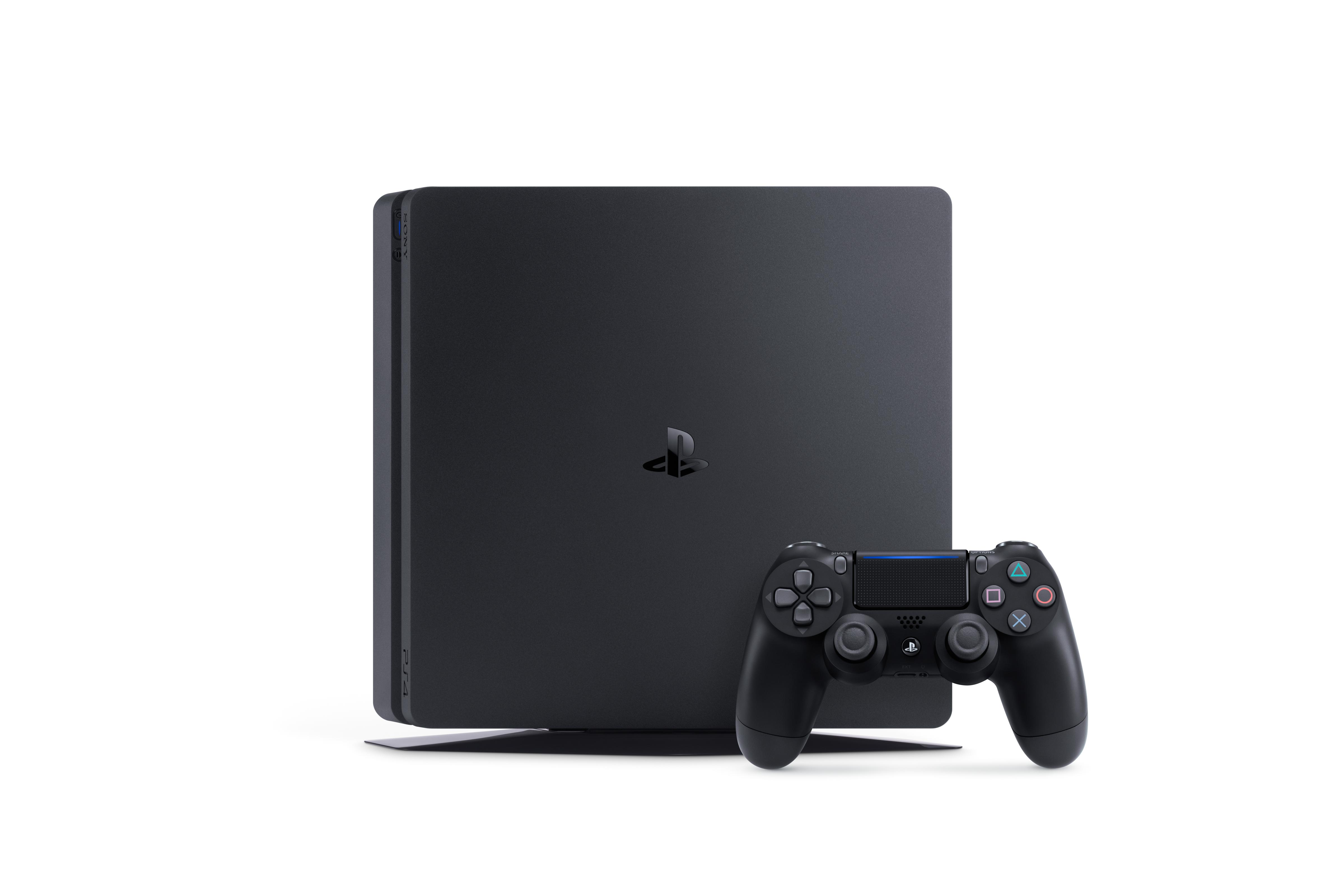 sony officially reveals the playstation 4 slim vg247. Black Bedroom Furniture Sets. Home Design Ideas