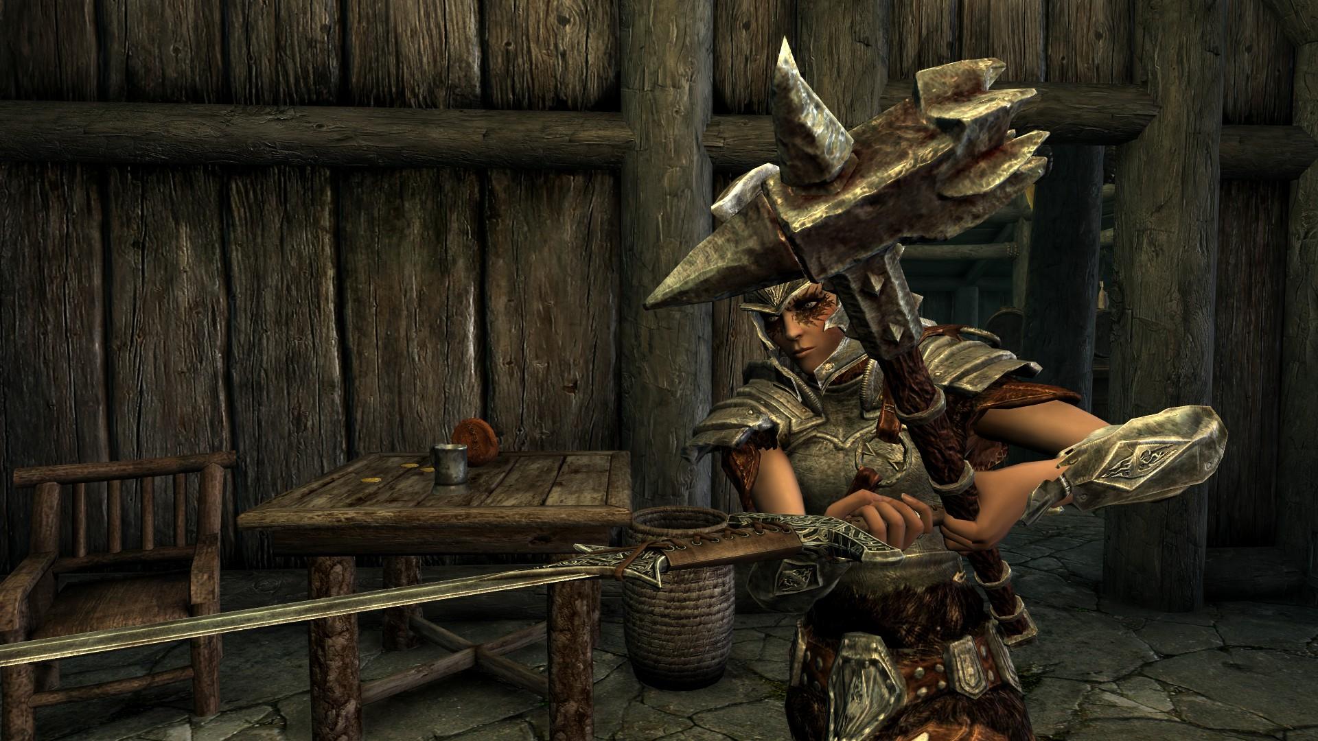 Handed Sword Builds In Skyrim