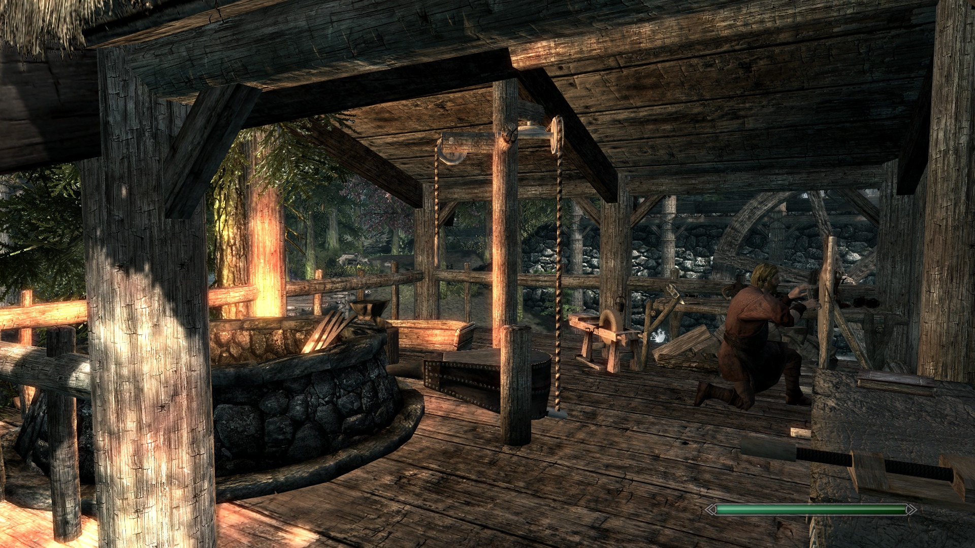 blacksmith forge skyrim - photo #6