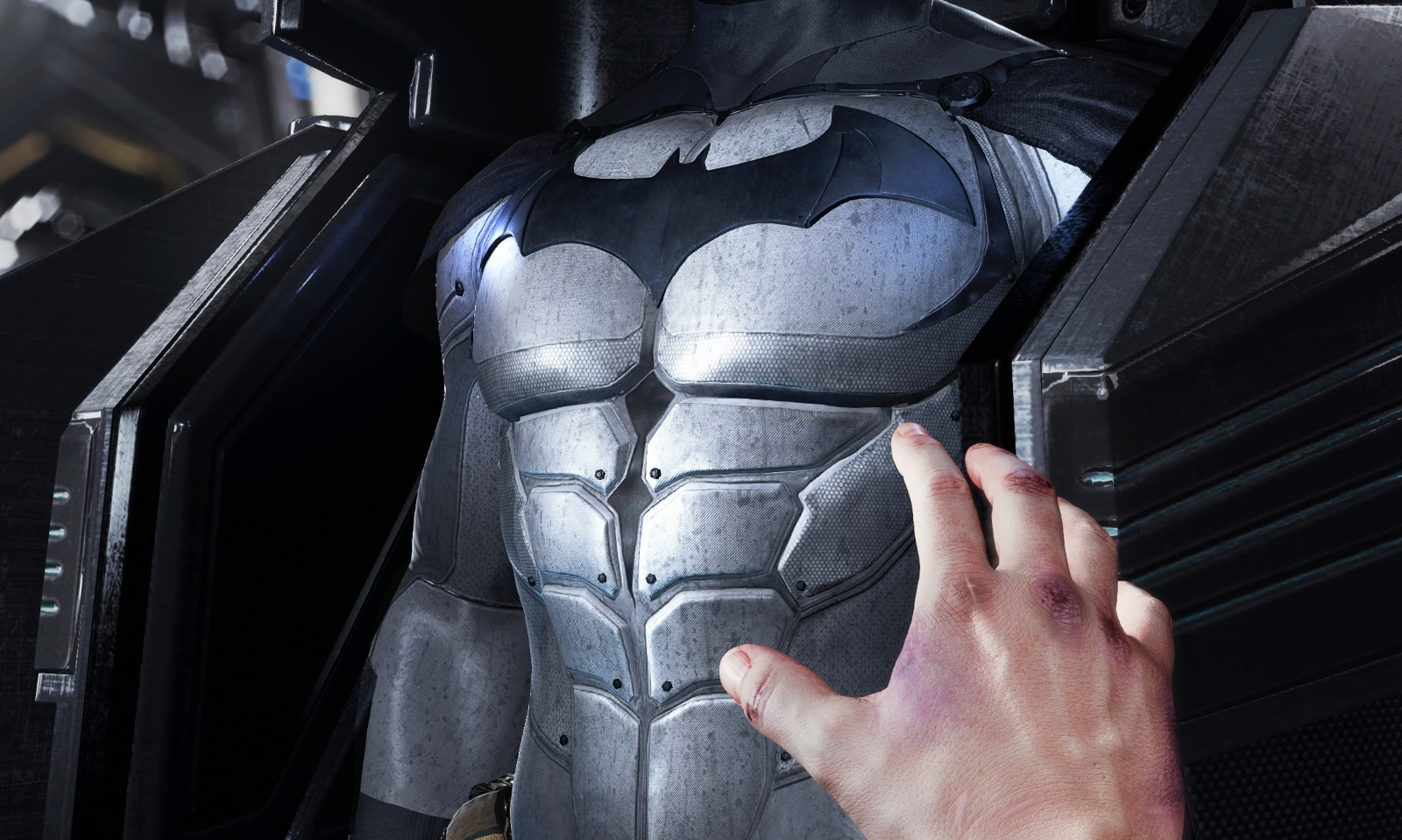 Batmobile Arkham Origins