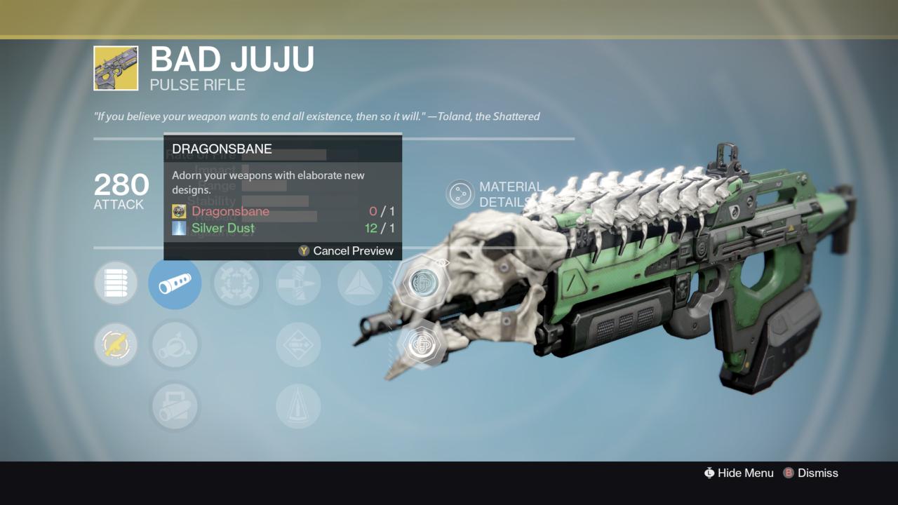 Destiny xur update should you buy bad juju vg247