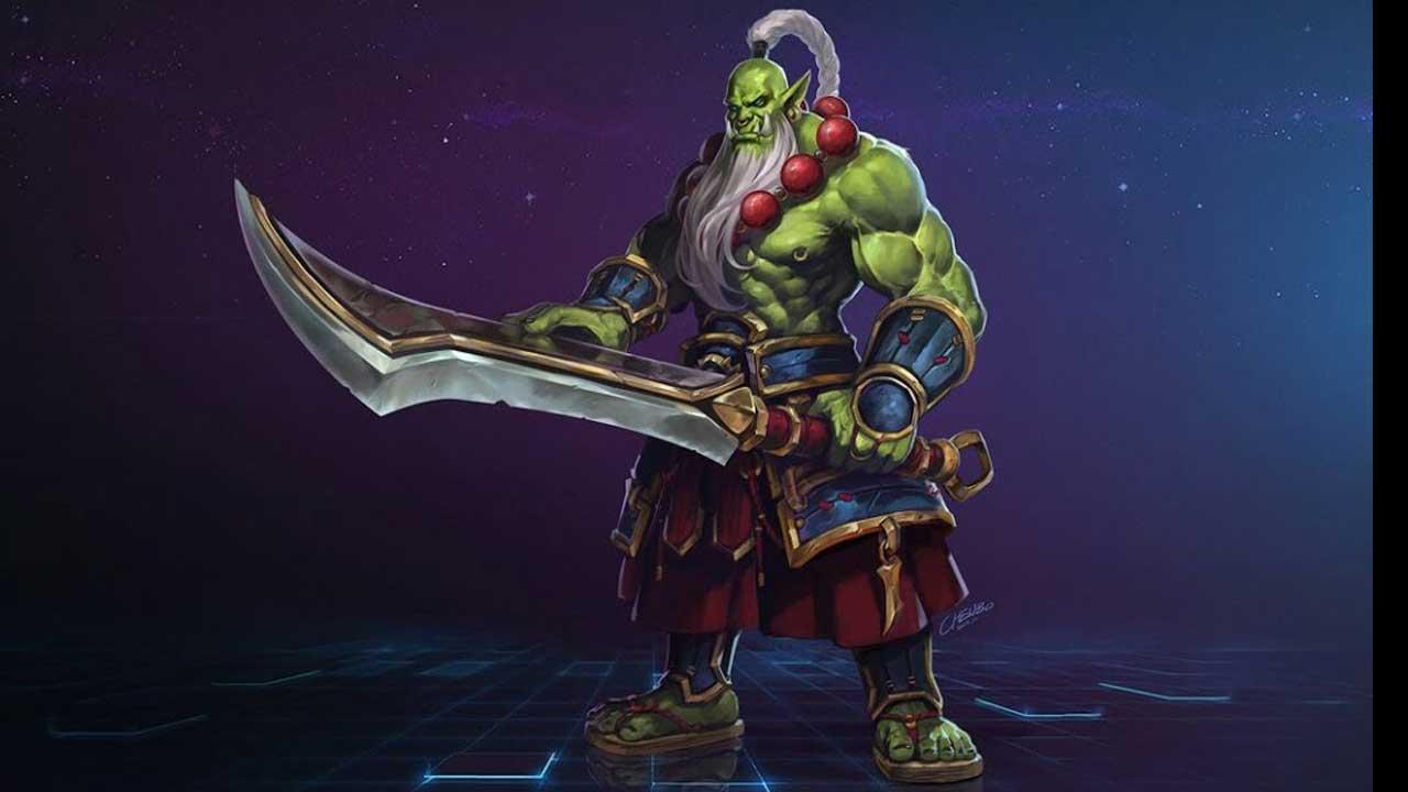 Pubg Hero By Gilbertgraphics: Warcraft Blademaster Samuro Heads To Heroes Of The Storm