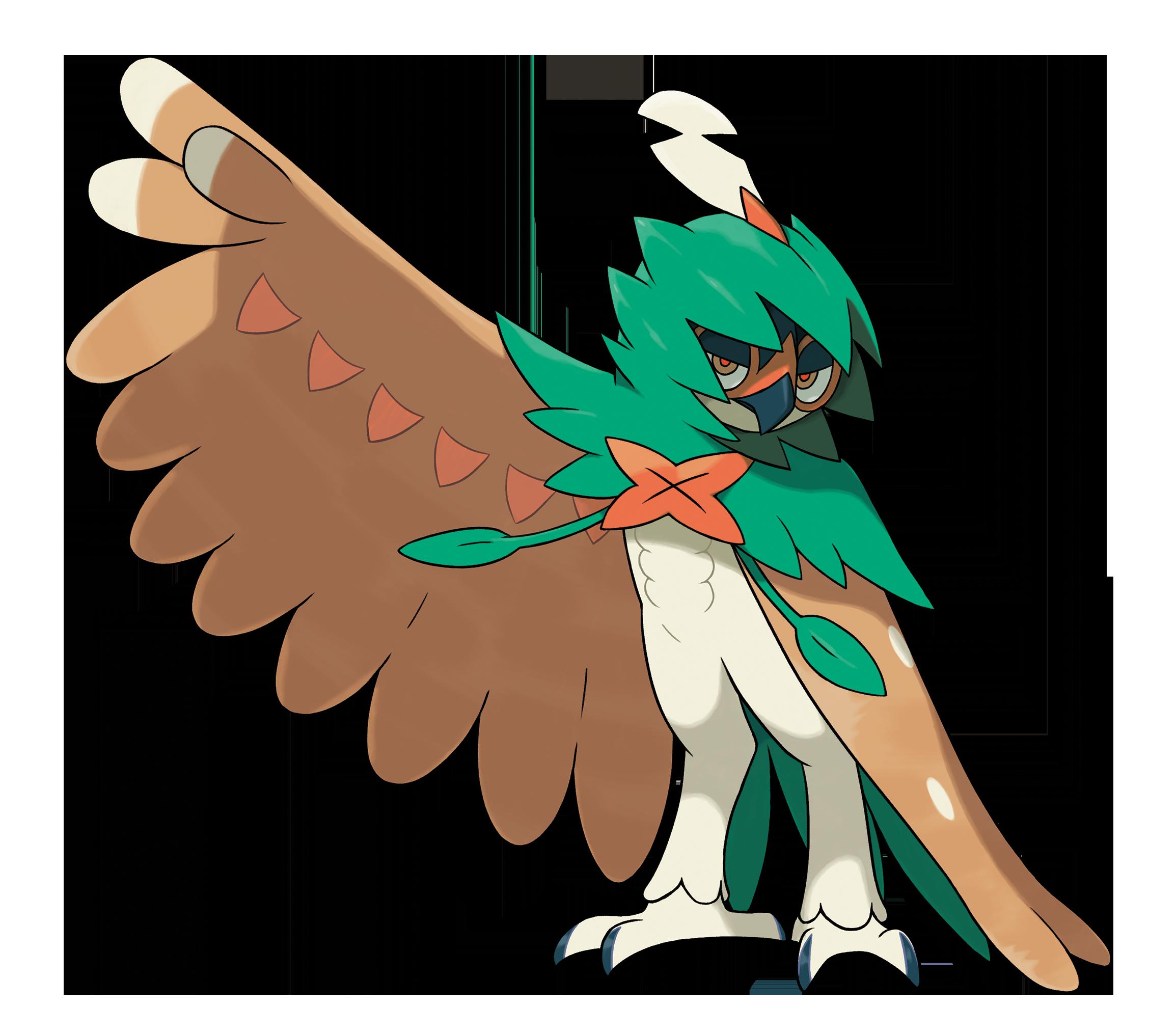 Decidueye Best Nature Pokemon