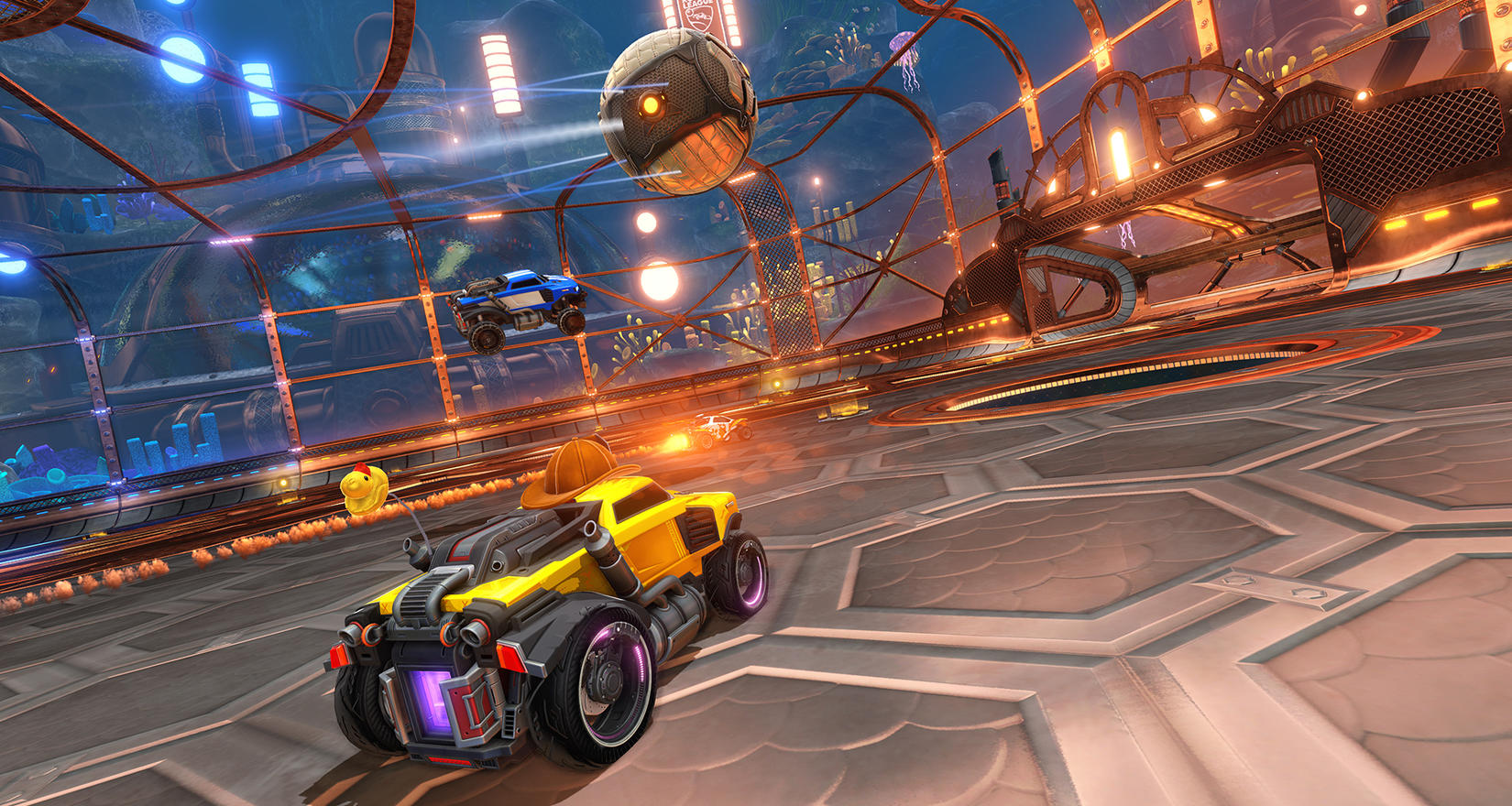 Rocket League: Starbase Arc arena shown at The Game Awards ...