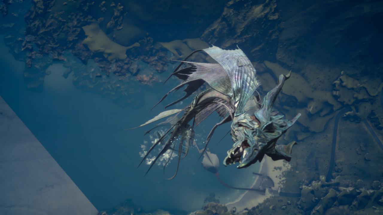 Final Fantasy 15 Here 39 S A Look At The Leviathan