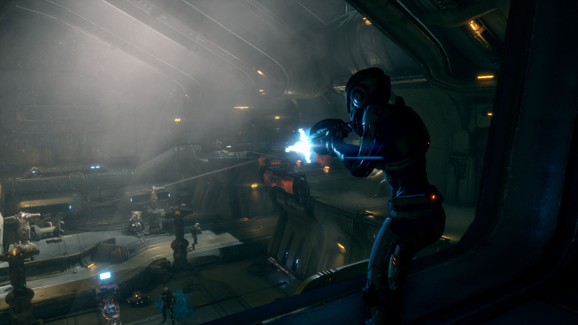 The New Mass Effect Andromeda Gameplay Trailer From The