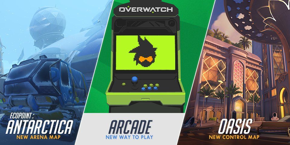 Overwatch Arcade Replaces Weekly Brawls New Modes Ecopoint And Oasis Maps Detailed Vg247