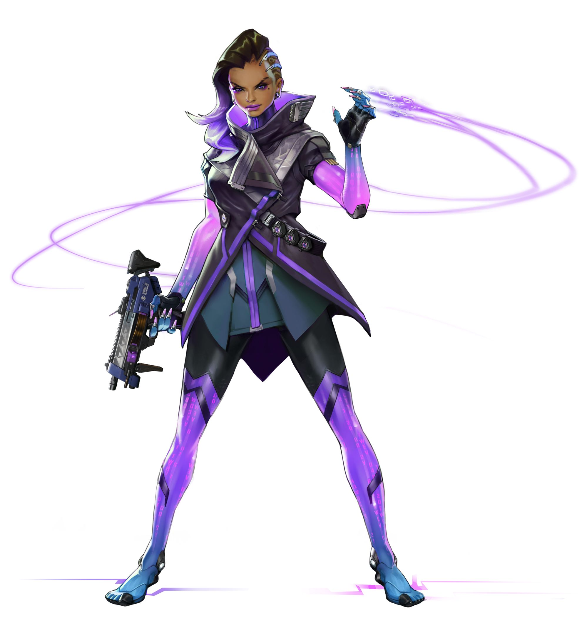 Character Design Overwatch : Feast your eyes on some sombra screens videos and concept