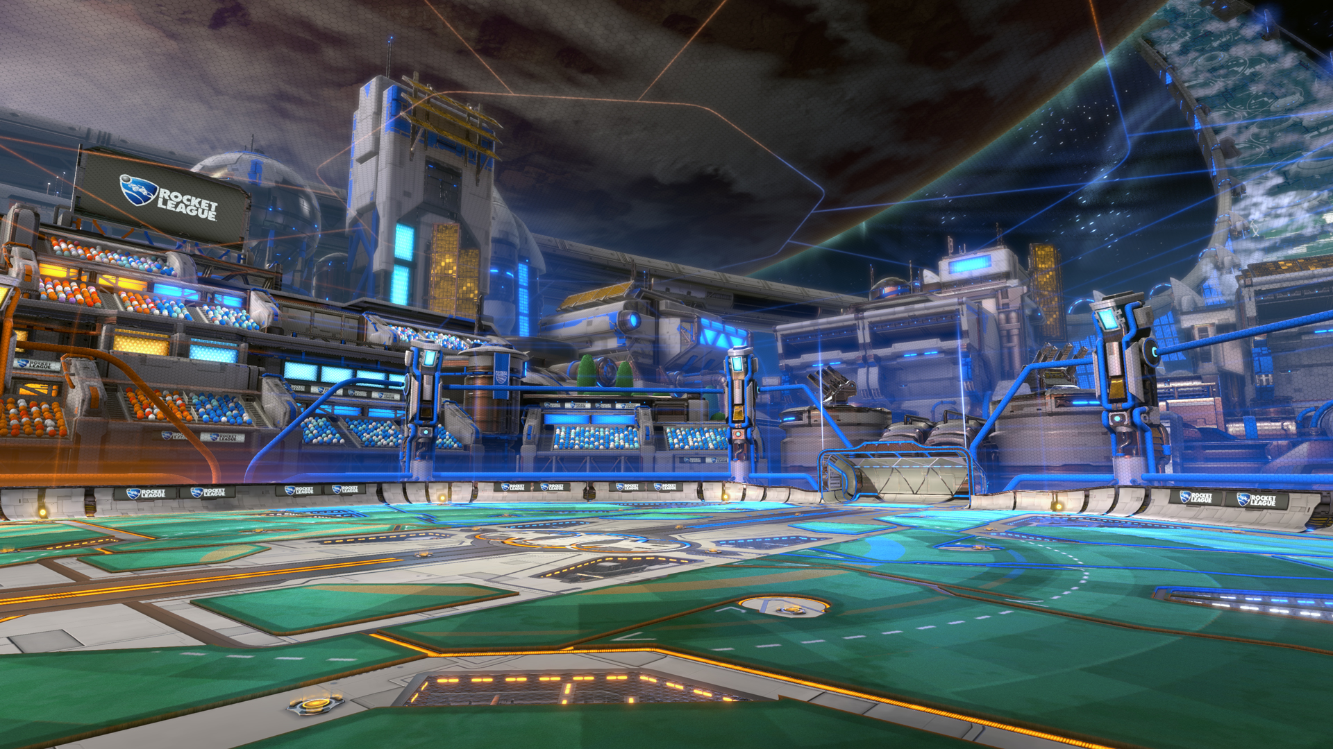 Rocket League: Starbase Arc arena shown at The Game Awards - VG247