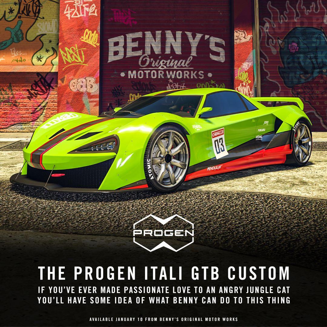 GTA Online's Latest Mega-expensive Car Costs $1,189,000