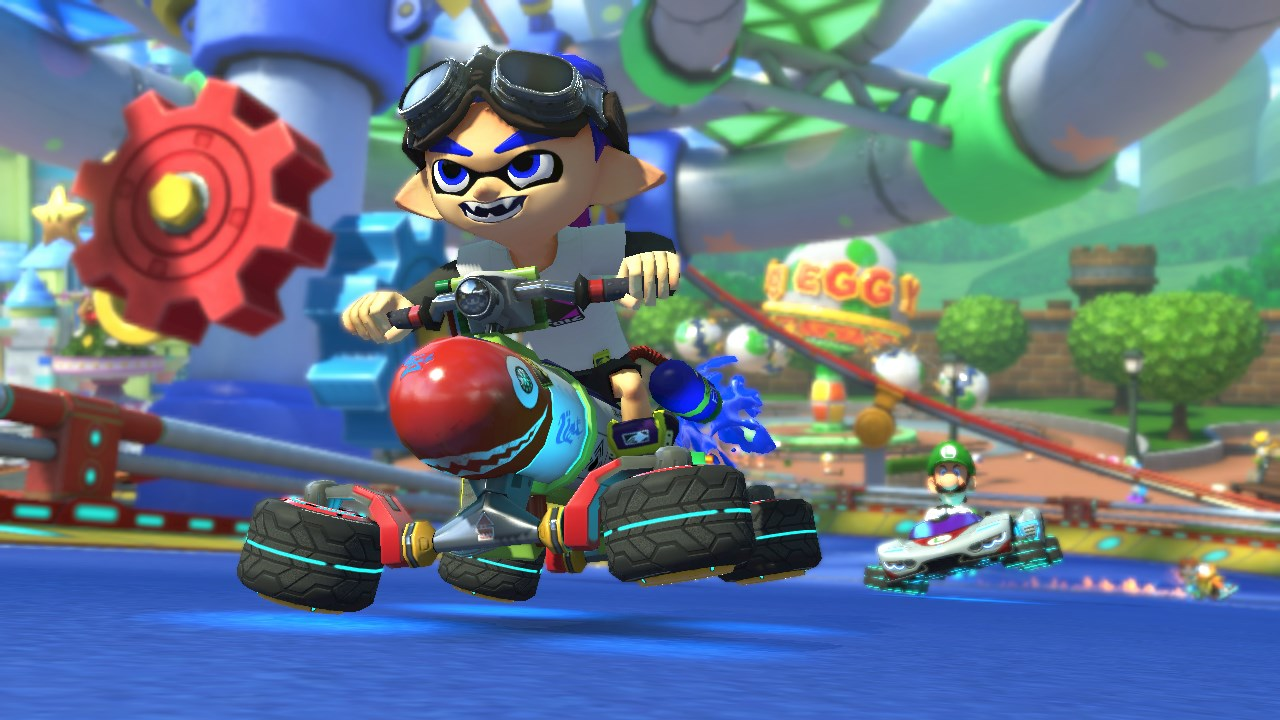 Mario Kart 8 Deluxe: here's some screens and a video of it ...