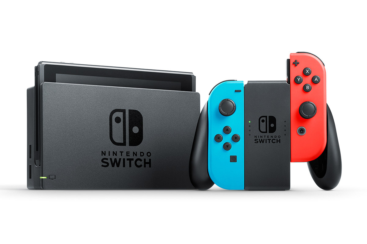 how to open the game card slot nintendo switch