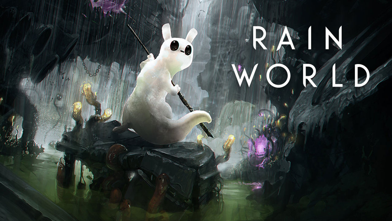 Rain world s ecosystem includes terrifying vultures and stilt legged