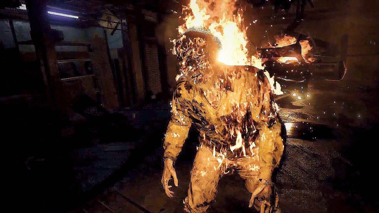 Resident Evil 7 Hundeköpfe