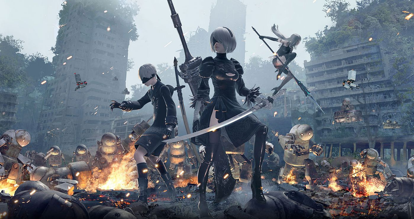 Nier Automata That Really Crass Really Odd Weird Shit