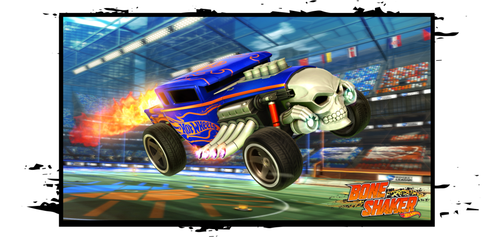 Rocket league players are getting hot wheels content later for Circuit hot wheels mural
