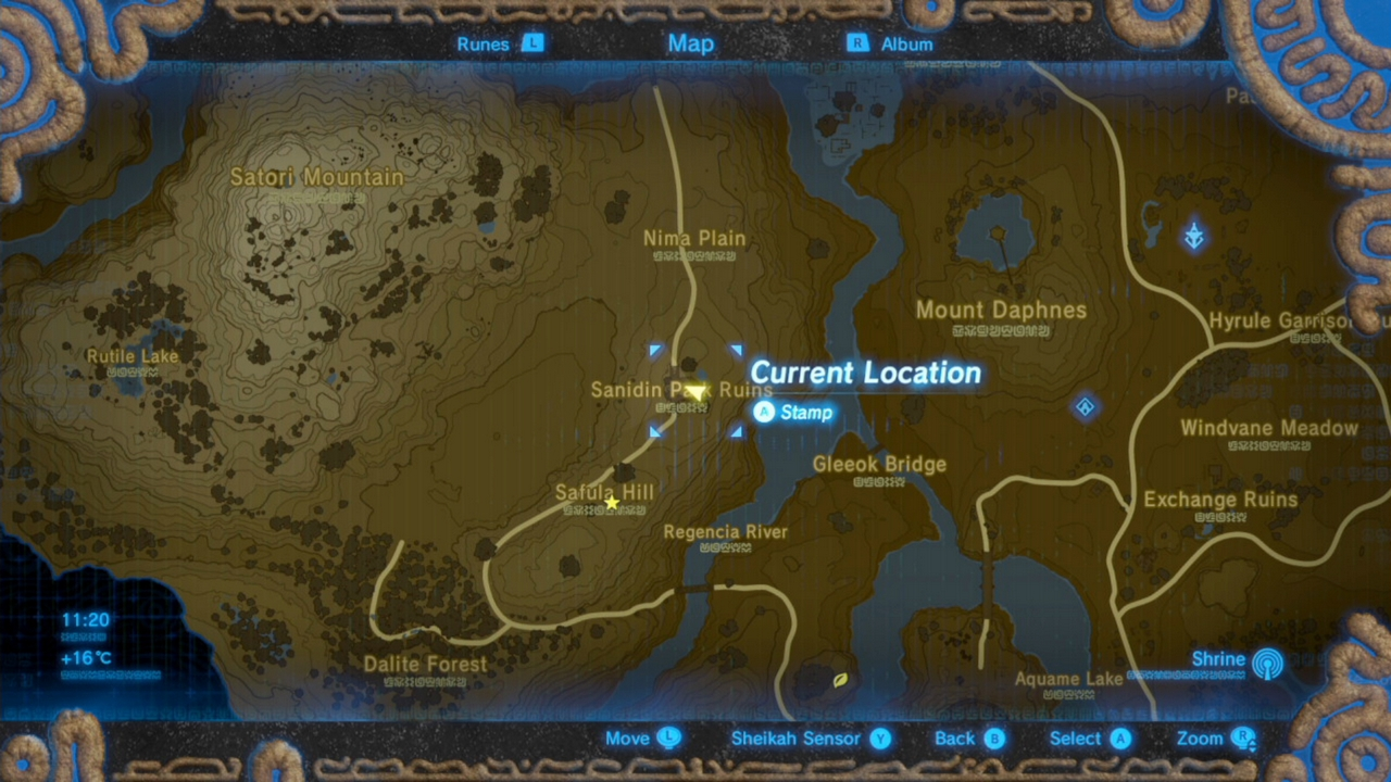 how to get to 4th shrine zelda