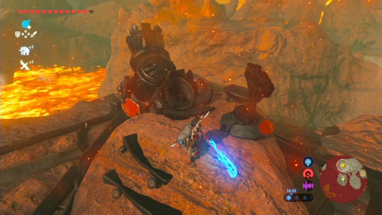 Zelda: Breath of the Wild guide: Death Mountain, Goron