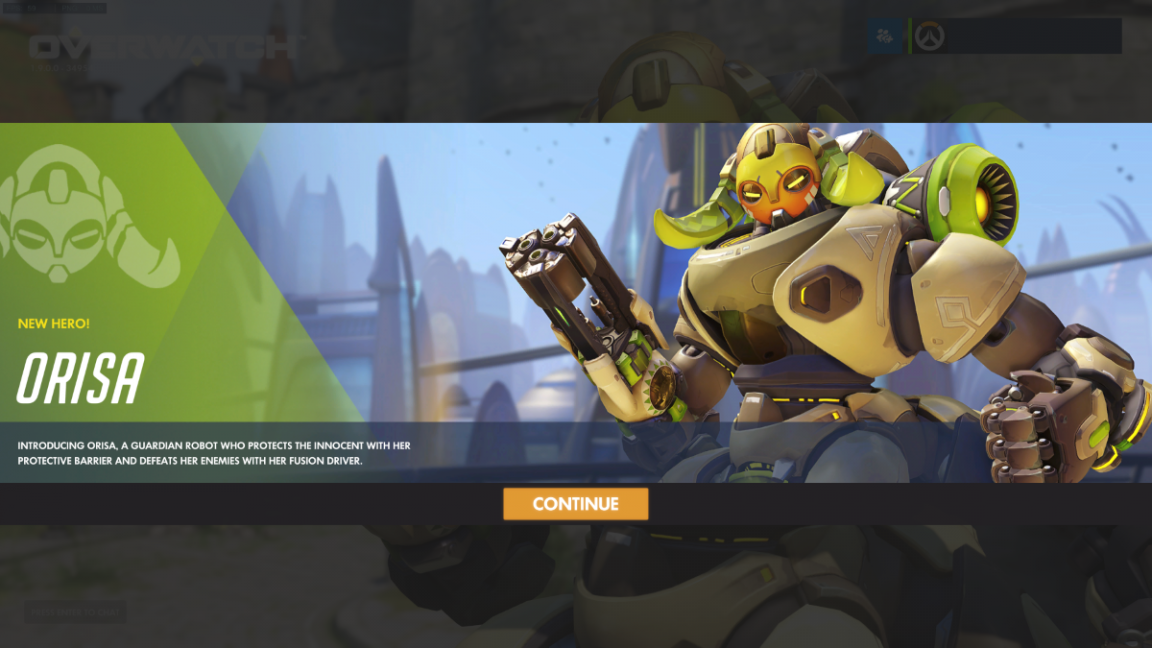 Overwatch Can New Tank Hero Orisa Unseat Reinhardt From