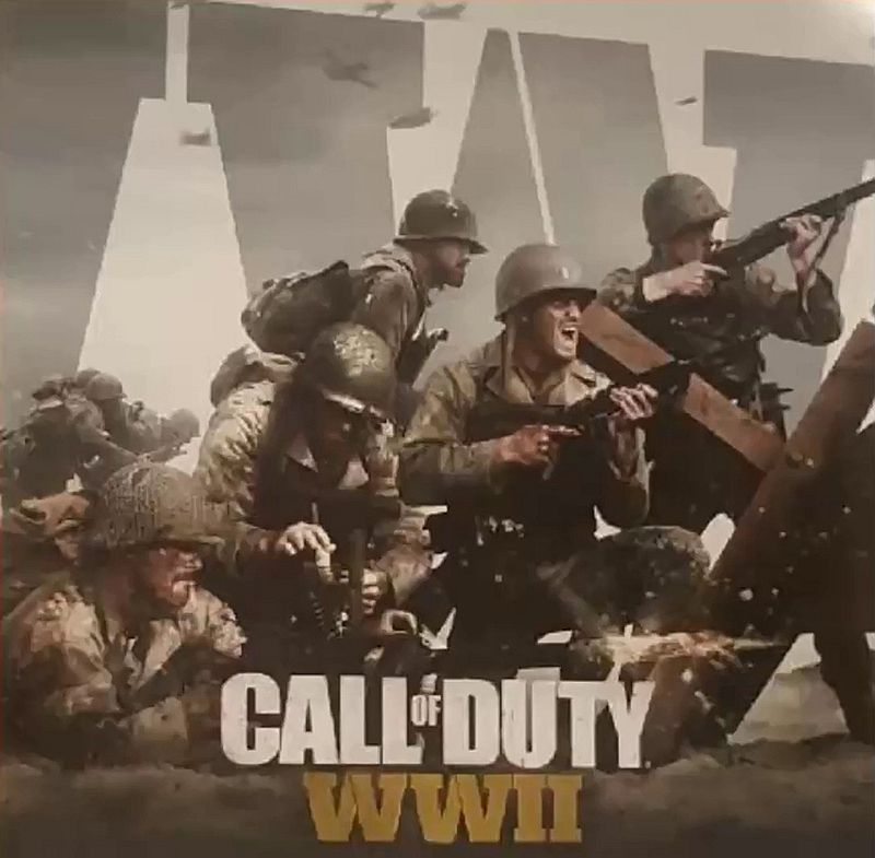 Leaked Call of Duty: WW2 promotional images show a ...