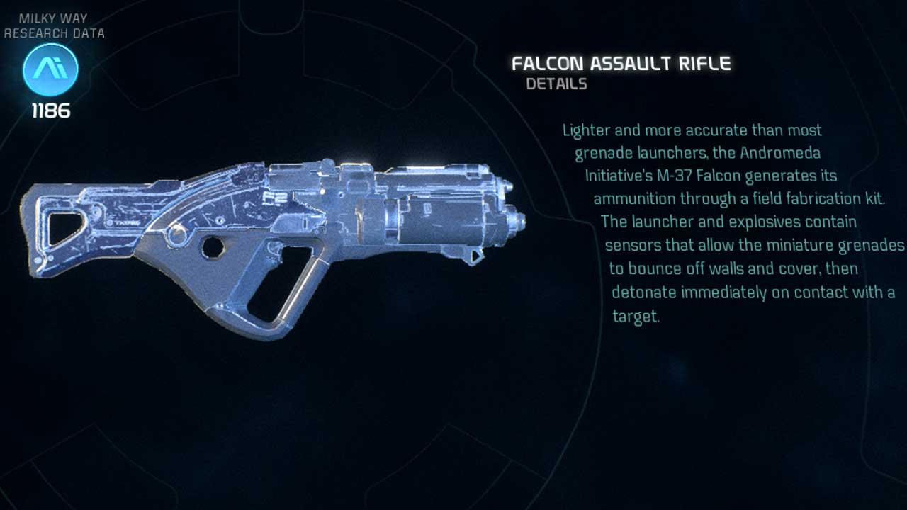 Best Craft Sniper Rifle Mass Effect Andromeda
