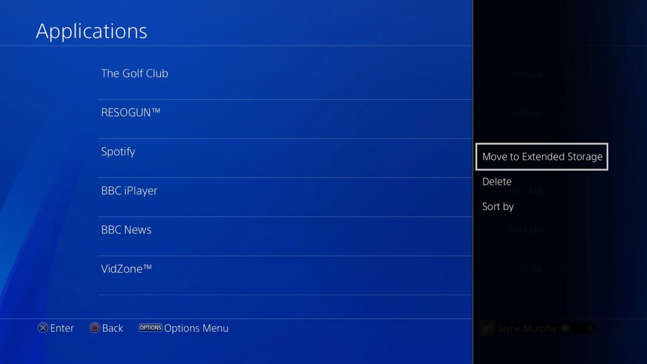 how to change user on ps4